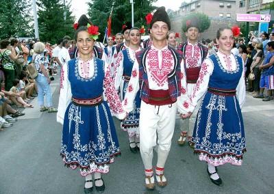 Año 2007 Bulgaria. Festival Folklórico de los Pirineos de Jaca