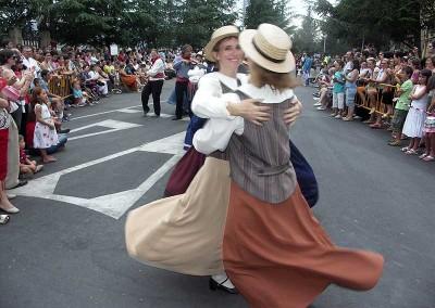 Año 2007 Canadá. Festival Folklórico de los Pirineos de Jaca