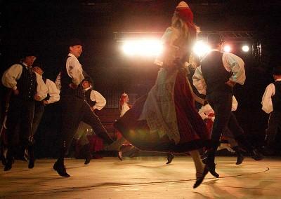 Año 2007 Estonia. Festival Folklórico de los Pirineos de Jaca