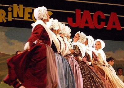 Año 2007 Francia. Festival Folklórico de los Pirineos de Jaca