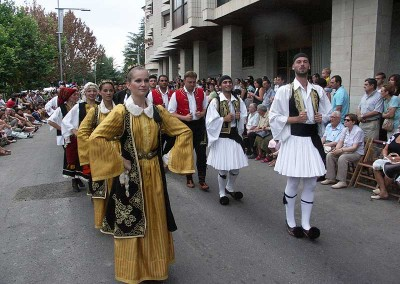 Año 2007 Grecia. Festival Folklórico de los Pirineos de Jaca