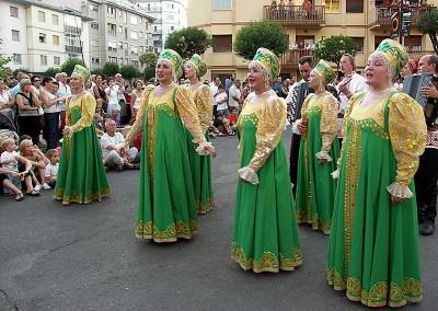 Año 2007 Komis. Festival Folklórico de los Pirineos de Jaca