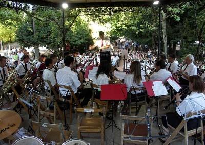Año 2007 Banda M. Santa Orosia. Festival Folklórico de los Pirineos de Jaca