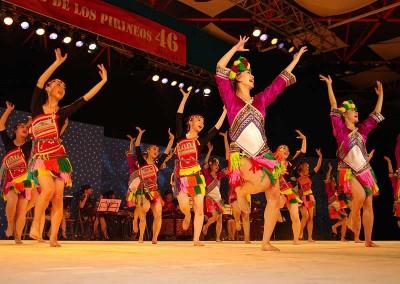 Año 2011 Perú. Festival Folklórico de los Pirineos de Jaca