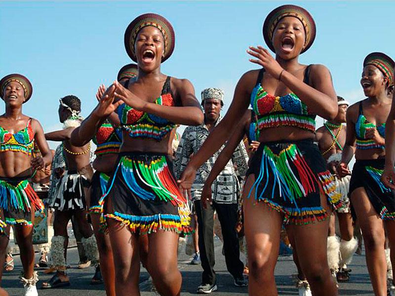 Conjunto Folklórico « Soweto Thabisong Dance Company » Sudáfrica