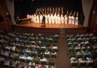 Año 2013 Orfeón Donostiarra Festival Folklórico de los Pirineos de Jaca. © Gabinete del Festival