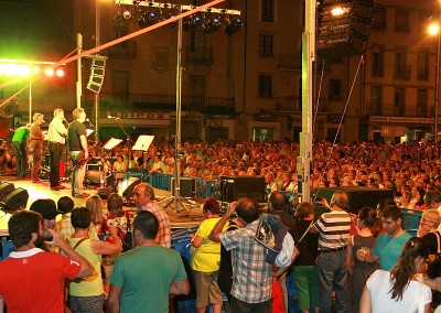Año 2013 Ronda de Boltaña. Festival Folklórico de los Pirineos de Jaca. © Gabinete del Festival