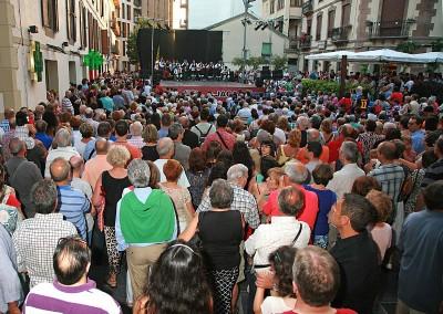 Año 2013 Grupo Val d'Echo. Festival Folklórico de los Pirineos de Jaca. © Gabinete del Festival