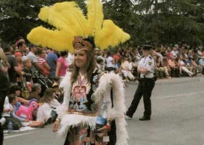 Voluntarios del Festival. Fotos archivos personales cedidas al Ayuntamiento