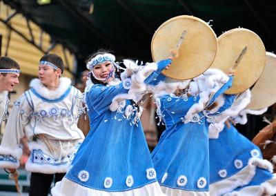 "Conjunto Folklórico Nacional Esquimales ""Eigunichvan"" Republica de Kamtchatka"
