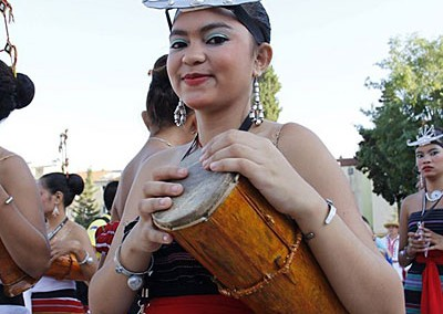 """Conjunto Folklórico Nacional """"Timor Furak"""" Timor Oriental"""
