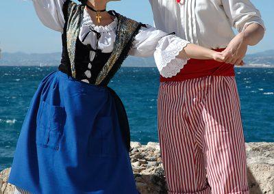 "Francia: Conjunto folklórico ""Nice la Belle"""