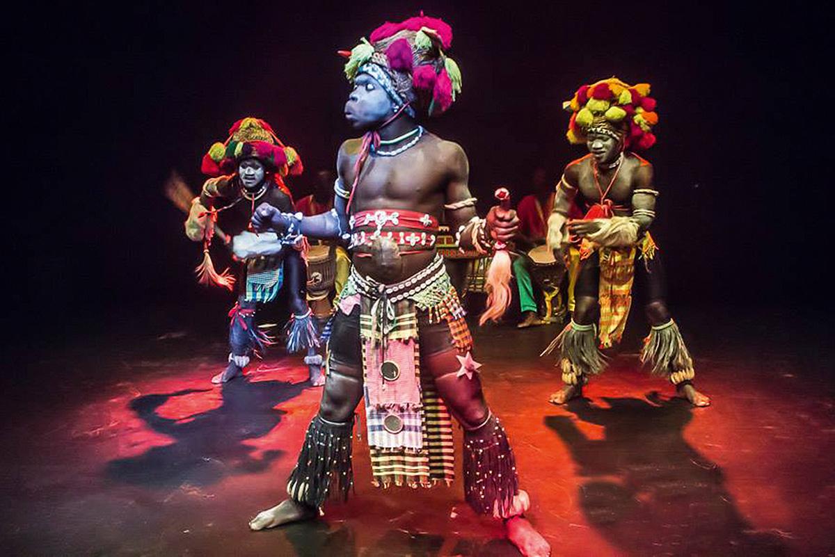 """Guinea Bissau: Conjunto folclórico nacional """"Netos de Bandim"""""""