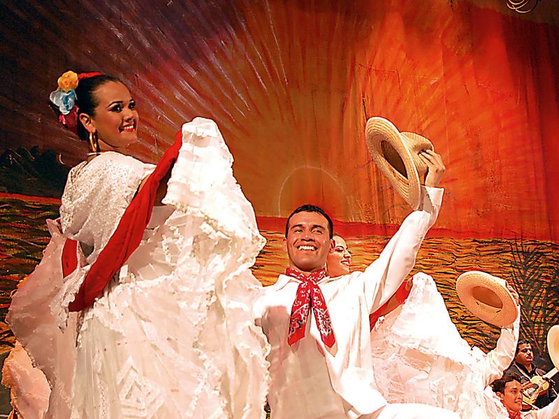 México: Conjunto folklórico Magisterial de Chiapas