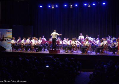 """Concierto """"La música de los cinco continentes"""" de la Banda Municipal de Música Santa Orosia de Jaca"""