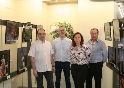 """Inauguración de la exposición""""Instantáneas de la 48 edición del Festival"""""""