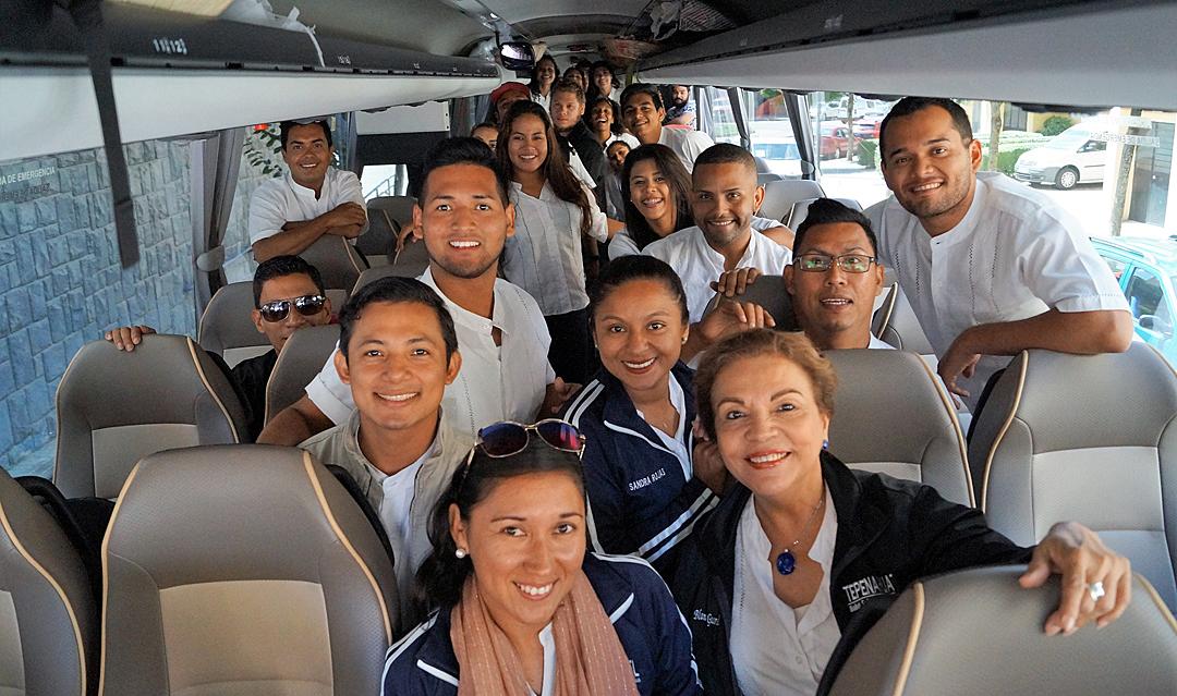 Nicaragua, el primer grupo en llegar al Festival de Jaca