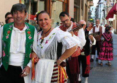 """Pasacalles y Tapa-Festi Grupo Folklórico """"Virgen de la Vega"""" de Murcia"""