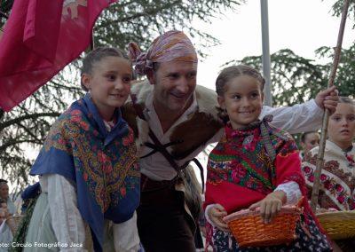 Desfile Final del Festival Folklórico de los Pirineos en Jaca