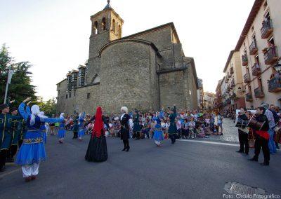 Desfile final del Festival Folklórico de los Pirineos 2017