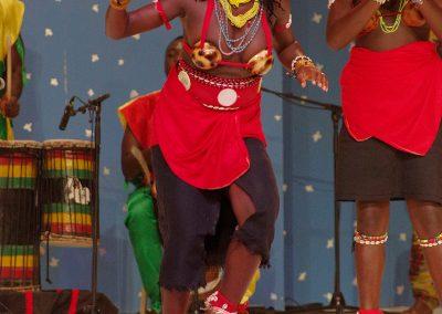 """Grupo Folklórico """"NETOS DE BANDIM"""" de Guinea Bissau"""