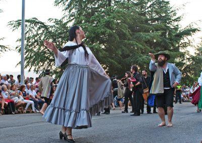 Desfile final del Festival Folklórico Jaca