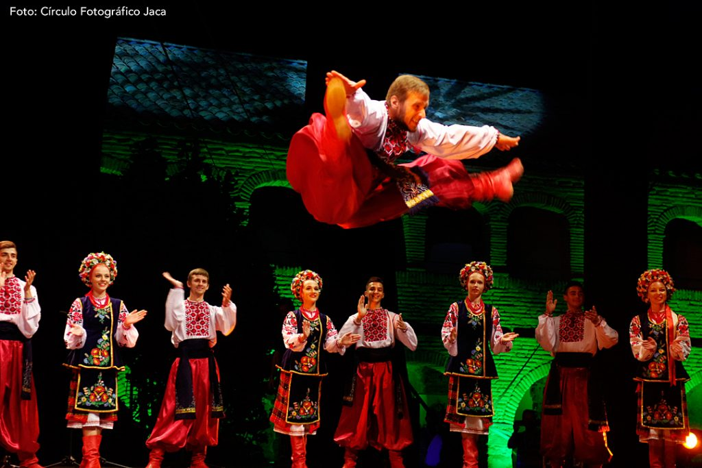 "Conjunto Folklórico ""TCHAÏKA"" de Ucrania."