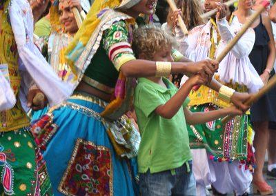 Pasacalles del Festival