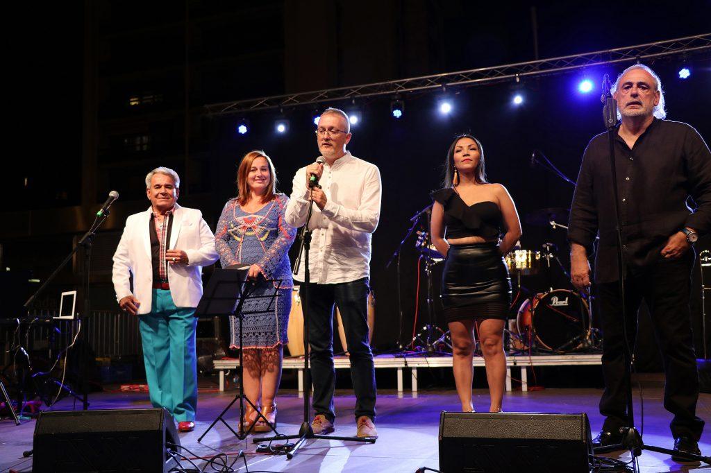"""Los ritmos latinos inundan Jaca en el """"aperitivo"""" del Festival"""