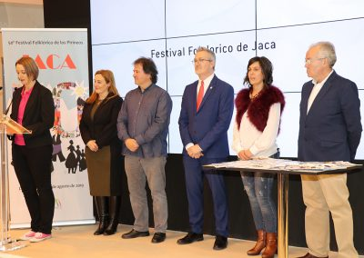 El Festival Folklórico de los Pirineos lleva a FITUR su 50 edición