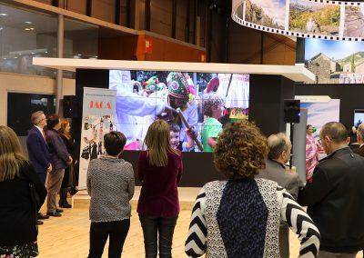 En la tarde del miércoles tuvo lugar la presentación de la 50 edición del Festival Folklórico de los Pirineos, en el stand de Aragón, de la Feria Internacional de Turismo. El certamen que celebra en 2019 su 50 edición, tendrá lugar en Jaca del 31 de julio al 4 de agosto .
