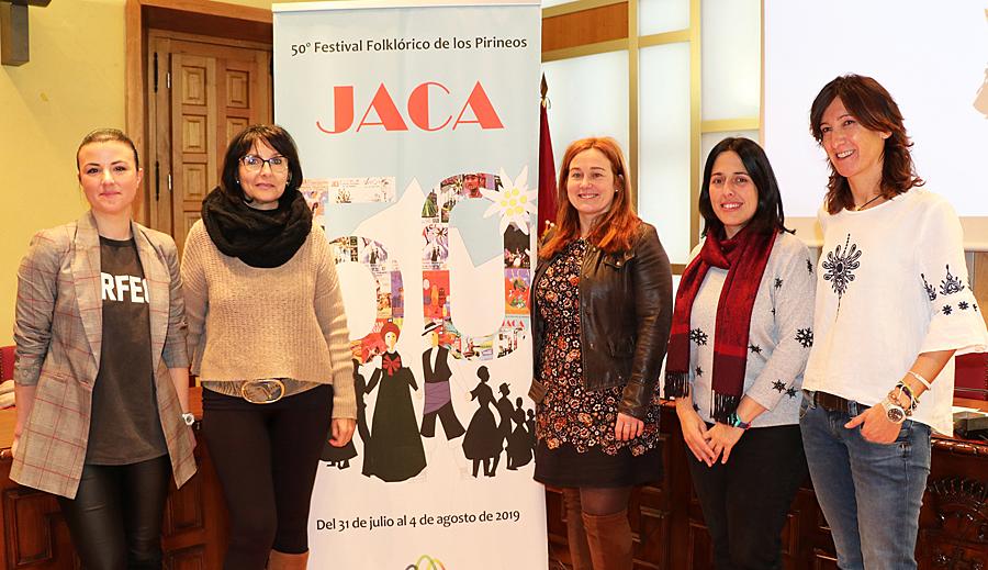 El Festival Folklórico de los Pirineos comienza ya en los centros escolares de Jaca