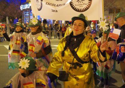 La 50 edición del Festival Folklórico de los Pirineos, en el Carnaval de Jaca