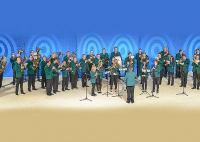 "Alemania:  Banda de Música ""SAINT MARTIN D'EICKS"""