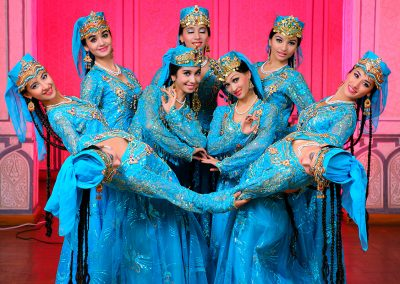 """Uzbekistán:  Grupo Folklórico Nacional """"SABO"""""""