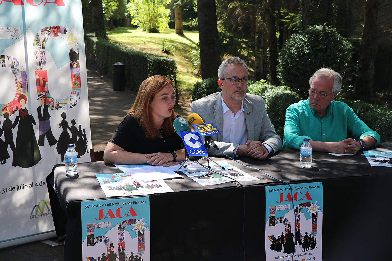 Jaca, preparada para celebrar la 50 edición del Festival Folklórico de los Pirineos