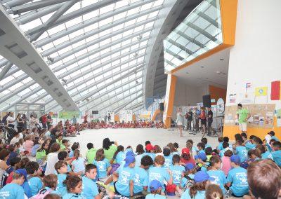 FOTO: Miguel Ramón- A los niños nos gusta el Festival – Hall de la Pista de Hielo
