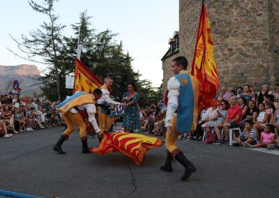 Desfile final, 4 de agosto de 2019. Foto: Festival Folklórico de los Pirineos