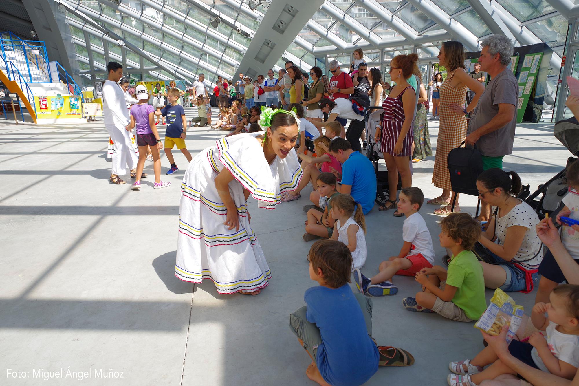 Finalizan los talleres «A los niños nos gusta el Festival»