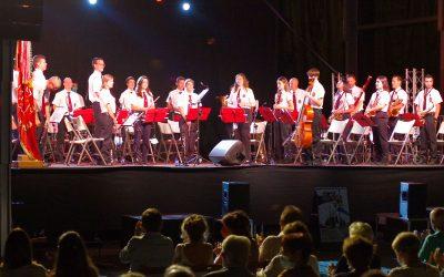 """La Banda de Música """"Santa Orosia"""" trae a San Lure los orígenes del jazz"""