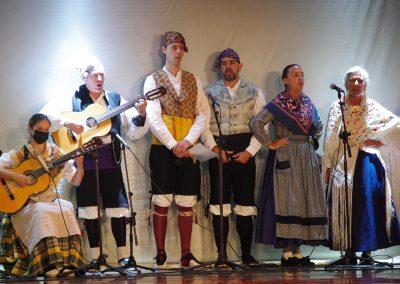 Grupo Jota Uruel . Foto: M.A. Muñoz. Festival Folklórico de los Pirineos