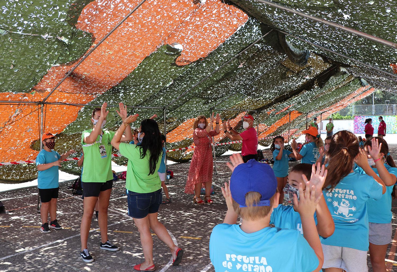"""""""A los niños nos gusta el Festival"""", que desde las 11h ha acercado la música, danza y culturas pirenaicas a los más jóvenes"""