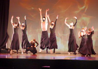 Joven Ballet del Pirineo. Foto: M.A. Muñoz. Festival Folklórico de los Pirineos