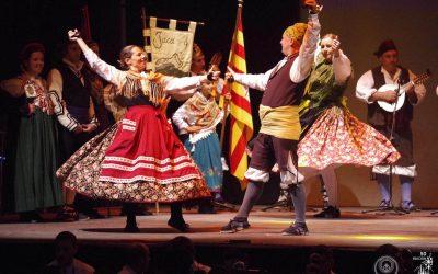 Jaca, preparada para el Festival Folklórico de los Pirineos más especial