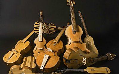 Los luthiers traen al Festival el origen de los instrumentos