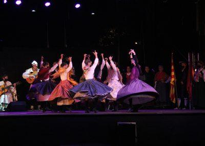 Foto: Ana Alaman. Festival Folklórico de los Pirineos