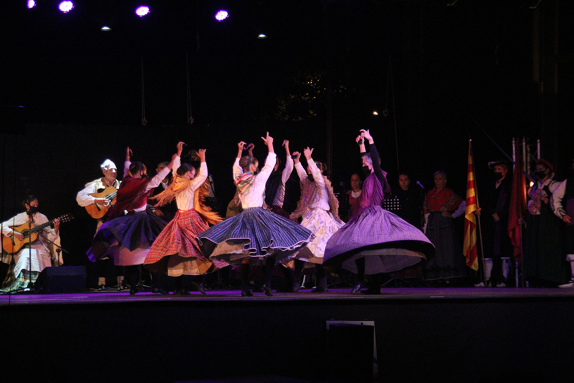 El Festival Folklórico de Jaca afronta su recta final